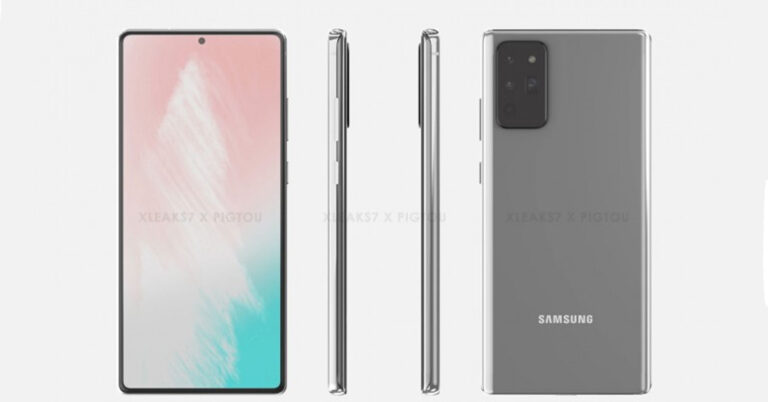 galaxy note 20 render 1