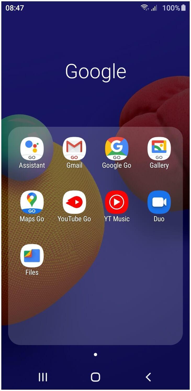 Galaxy A01 Core UI SpecPhone 0002