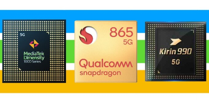 Mediatek v qualcomm v hisilicon 5