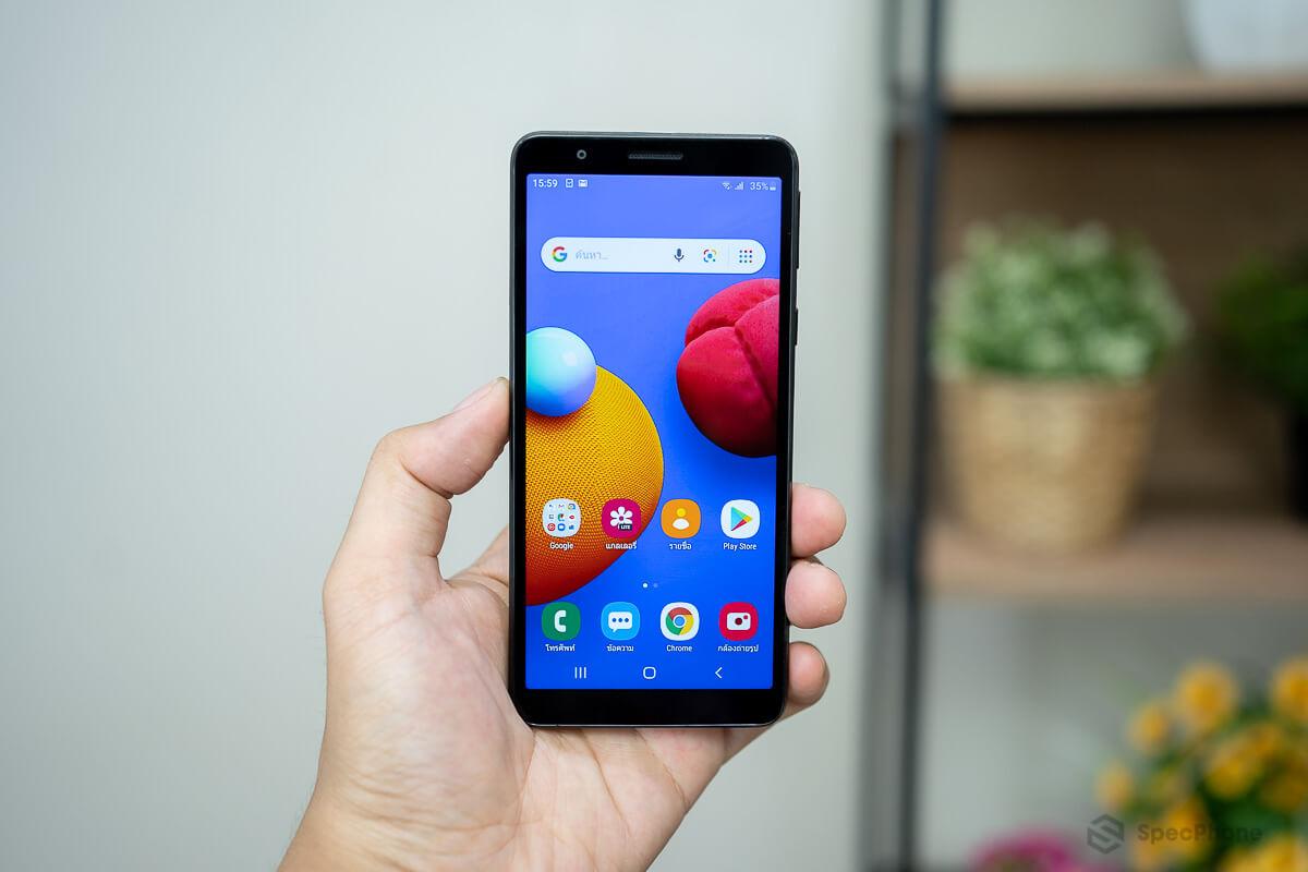 รีวิว Samsung Galaxy A01 Core น้องเล็ก พร้อมสเปคสุดเบสิก ในราคาเริ่มต้น 2,499 บาท