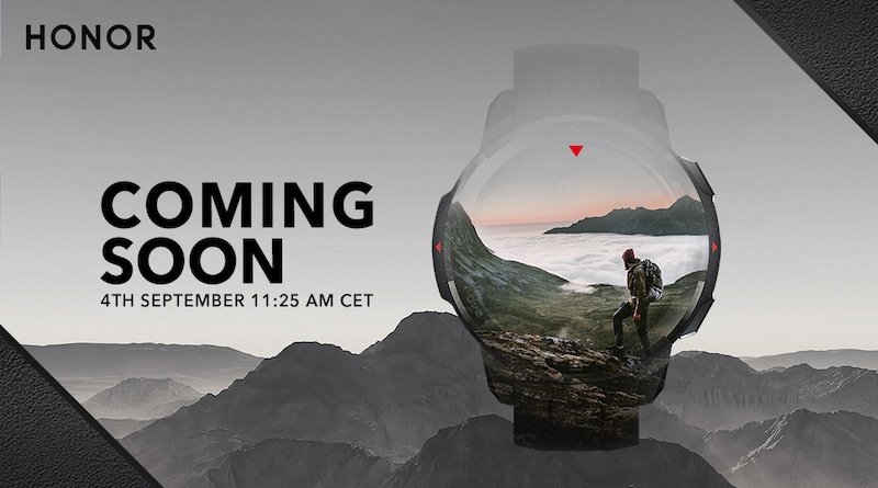 Honor Watch GS Pro พร้อมเปิดตัวอย่างเป็นทางการวันที่ 4 ก.ย. นี้