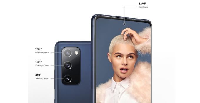 สเปค Samsung Galaxy S20 FE camera front