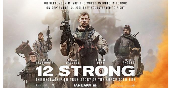 หนังดีบน Netflix 12 strong