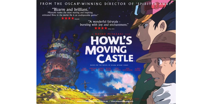 หนังดีบน Netflix Howl's Moving Castle