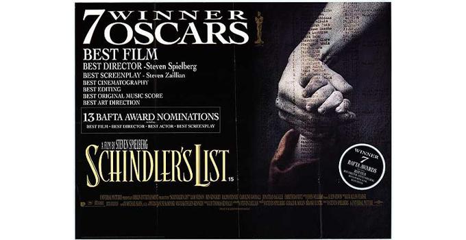 หนังดีบน Netflix Schindler's List