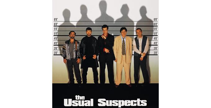 หนังดีบน Netflix The Usual Suspects