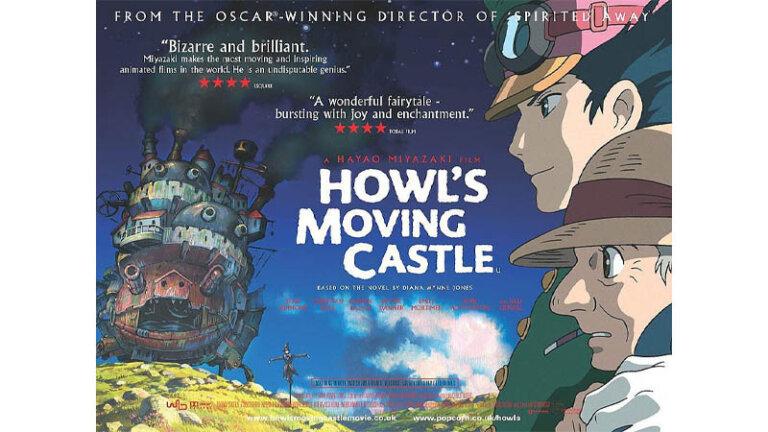 หนังน่าดู Netflix หนัง Netflix howl's moving castle