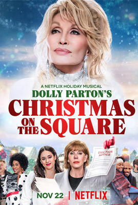 Netflix น่าดู Dolly Parton's Christmas on the Square