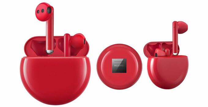 หูฟังไร้สาย True wireless Huawei FreeBuds 3 spec