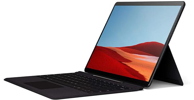 10 แท็บเล็ตน่าใช้งาน Microsoft Surface Pro x