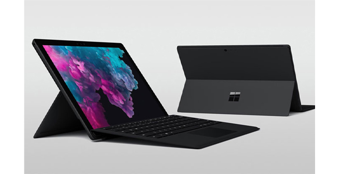 10 แท็บเล็ตน่าใช้งาน Microsoft Tablet Surface Pro7