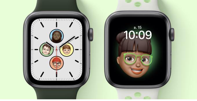 Apple Watch SE watch face