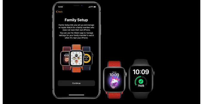 Apple Watch Series 6 family