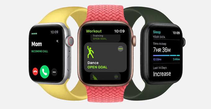 Apple Watch Series 6 vs Series 5 digital crown