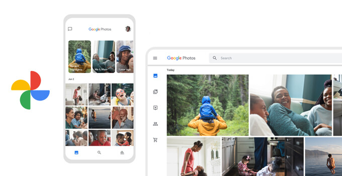 Google Photo Head