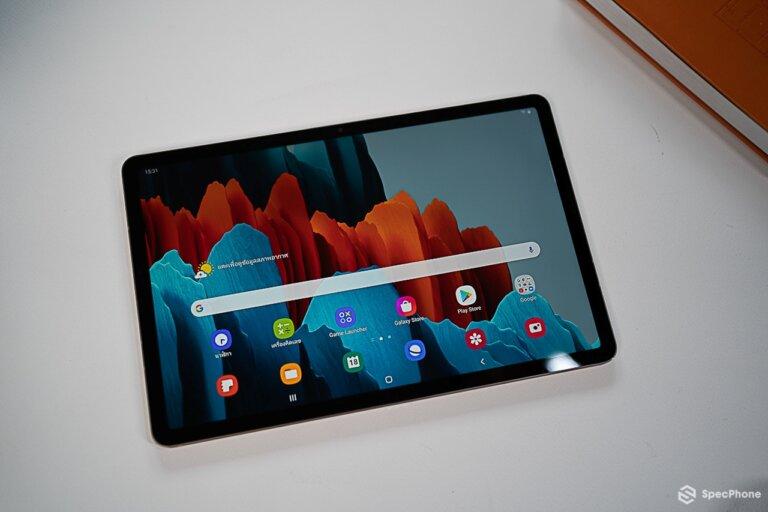 Review Samsung Galaxy Tab S7 44