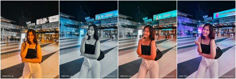 Vivo X50 Pro 5G Night Portrait Style