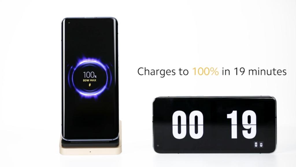 เสียวหมี่เปิดตัวการเป็นผู้นำเทคโนโลยีการชาร์จแบบไร้สาย 80W Mi Wireless Charging Technology ชาร์จเต็ม 100% แบบไร้สายเพียงแค่ 19 นาทีเท่านั้น