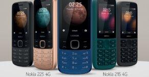 Nokia 215 4G Nokia 225 4G