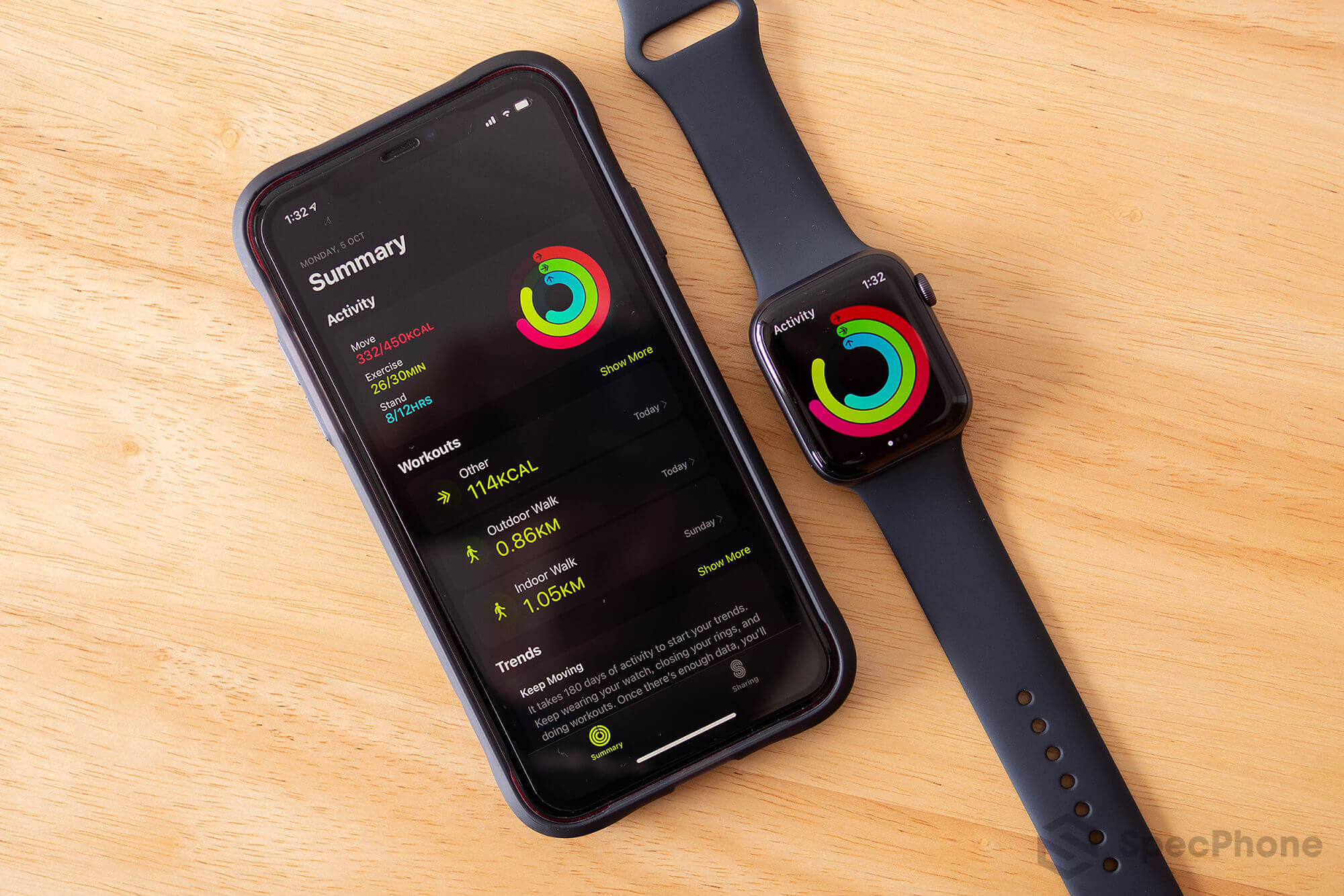 Review Apple Watch Series 6 SpecPhone 54