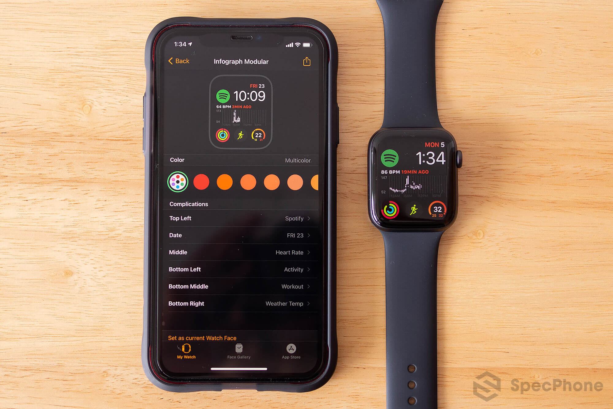 Review Apple Watch Series 6 SpecPhone 55