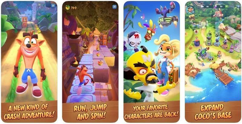 Crash Bandicoot เตรียมพร้อมเปิดให้ดาวน์โหลดบน iPhone และ iPad แล้ว เร็ว ๆ นี้