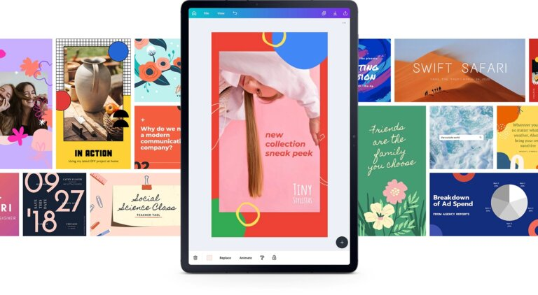 galaxy tab s7plus fron canva ui screen pc 1