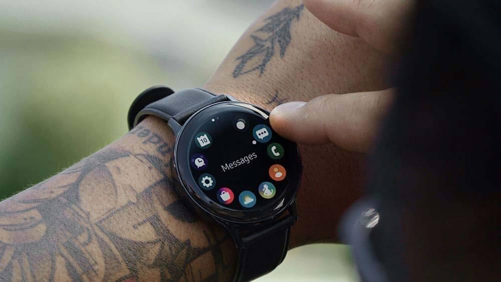 Samsung Galaxy Watch Active2 เพิ่มอัปเดตระบบเสียงแจ้ง Voice Support