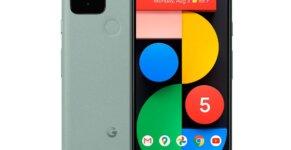 google pixel 5 frontback
