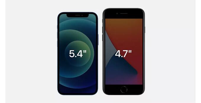 iphone 12 mini compare