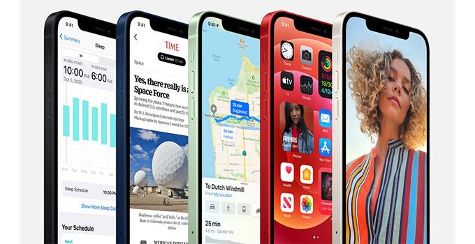 iphone 12 mini front display