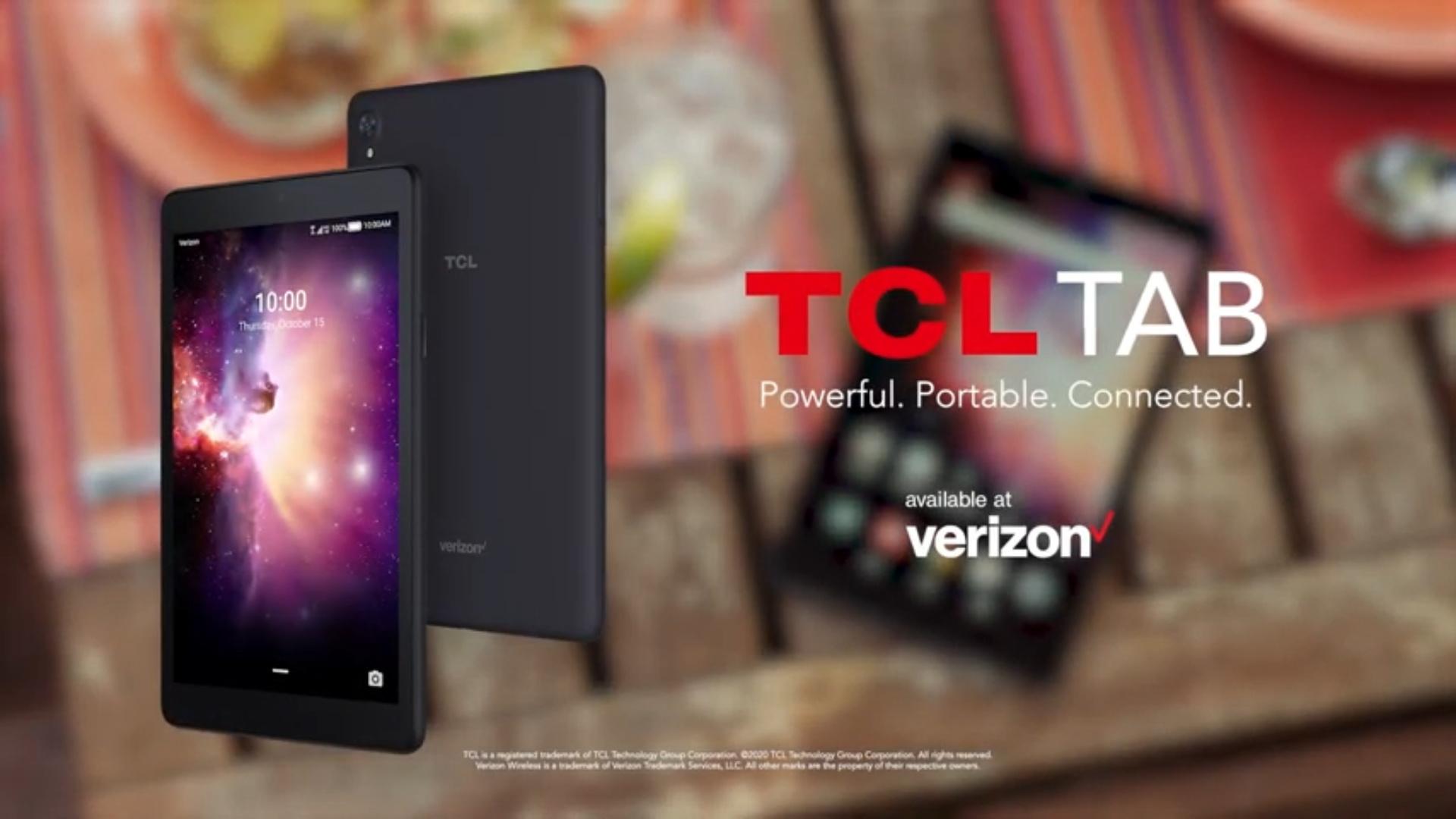 TCL TAB แท็บเล็ตราคาถูกเปิดตัวพร้อมวางจำหน่ายกับทาง Verizon แล้ว