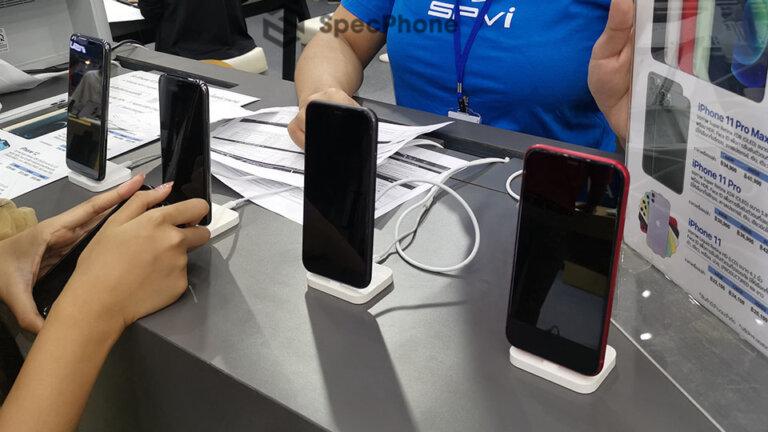 มือถืองาน commart 2020 iphone 11