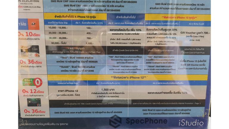 มือถืองาน commart 2020 iphone 12 เครดิต