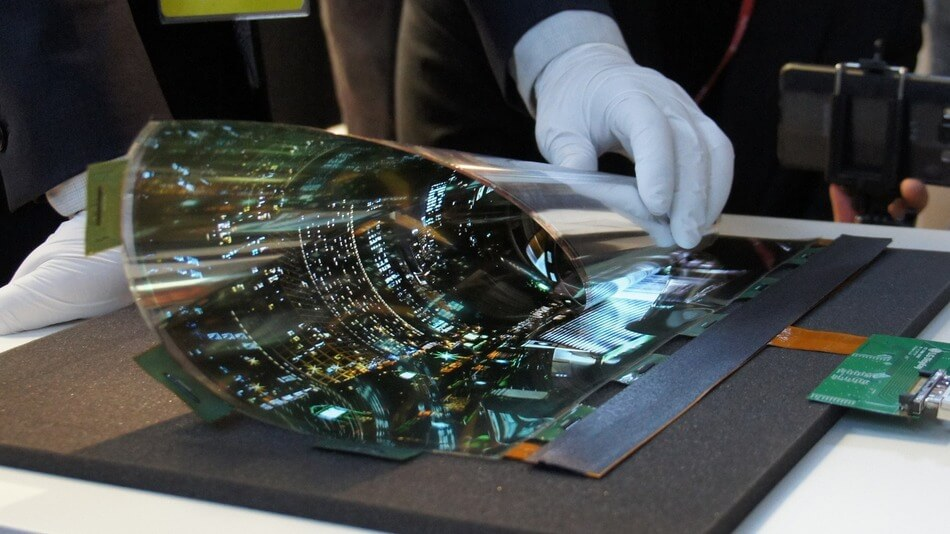 LG Rollable screen