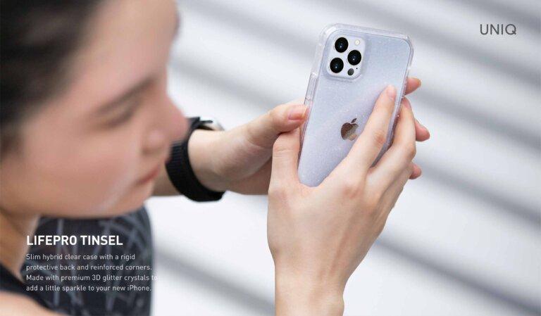 Pic Uniq LifePro Tinsel iPhone 12 Marketing Deck FA B2B 01