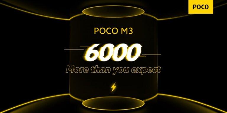 Poco M3 spec comfirms 001