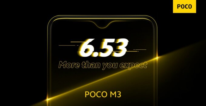 Poco M3 spec comfirms 003