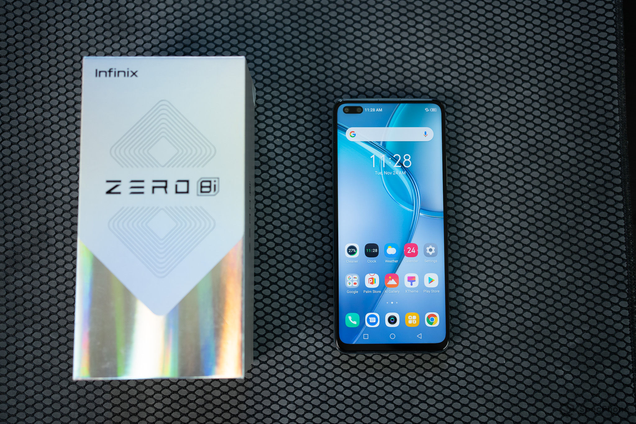 Review Infinix Zero 8i 18