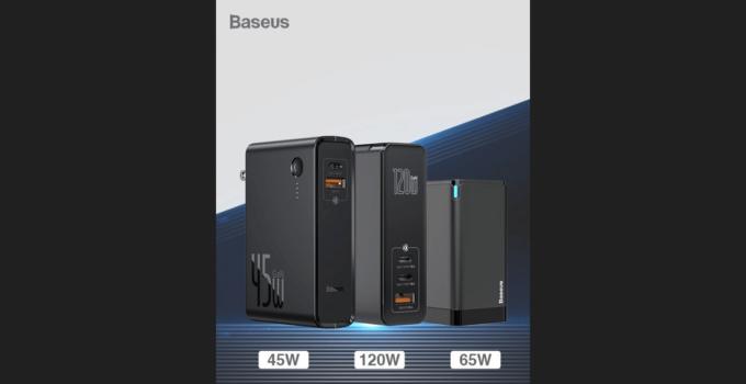 Baseus เปิดตัวที่ชาร์จเร็วที่มาพร้อมกับเทคโนโลยี GaN กำลังไฟสูงถึง 120W