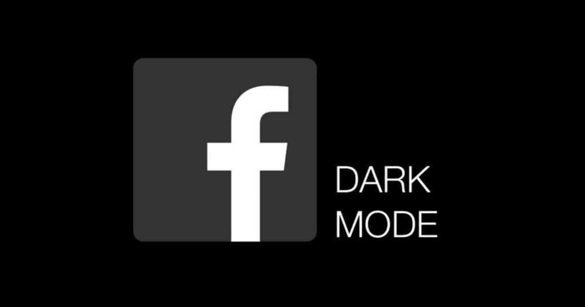 facebook dark modes