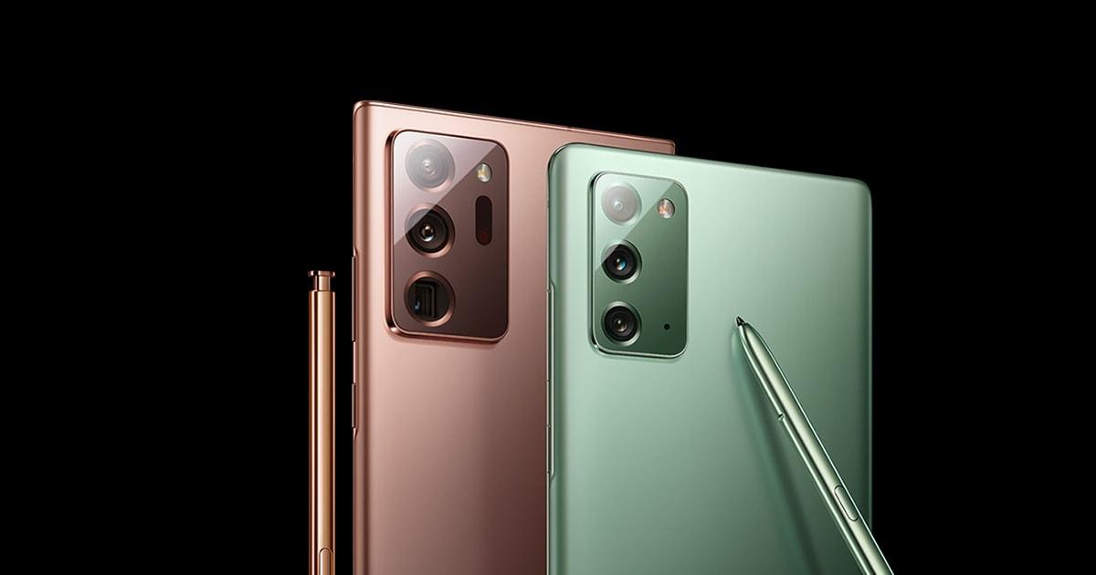 Samsung Galaxy Note 20 Ultra 5G ครองแชมป์สมาร์ทโฟน 5G ที่มียอดจำหน่ายสูงสุด