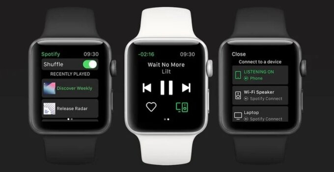 Spotify บน Apple Watch ทำงานได้แบบ Standalone ไม่ต้องมี iPhone ใกล้ ๆ ได้แล้ว