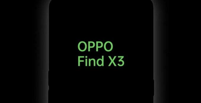 Oppo Find X3 tesed