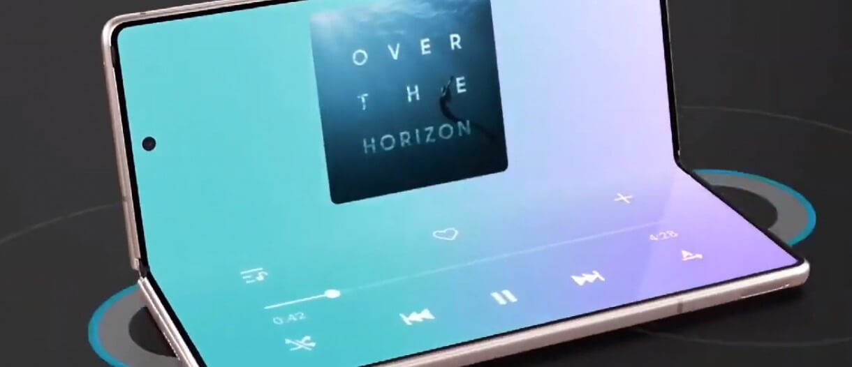 Samsung เตรียมเปิดตัวสมาร์ทโฟนหน้าจอพับได้ 4 รุ่นในปี 2021
