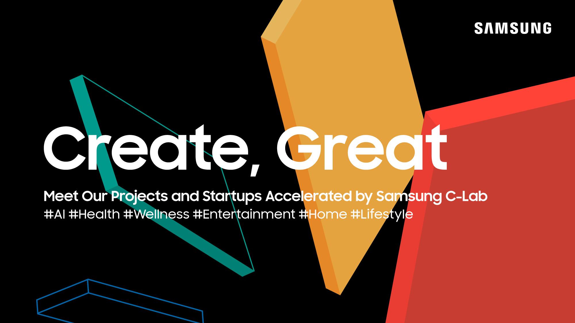 """ซัมซุงนำเสนอสุดยอดนวัตกรรมจาก โครงการ """"C-Lab Inside"""" และ """"C-Lab Outside"""" ที่งาน CES 2021"""