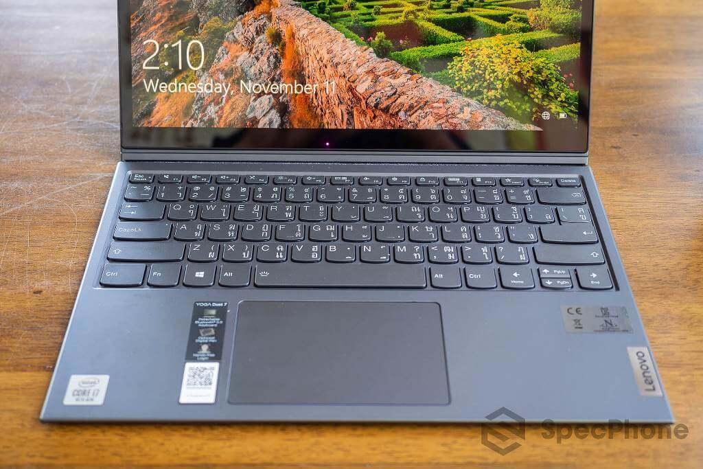 Review Lenovo YOGA Duet 7i SpecPhone 22