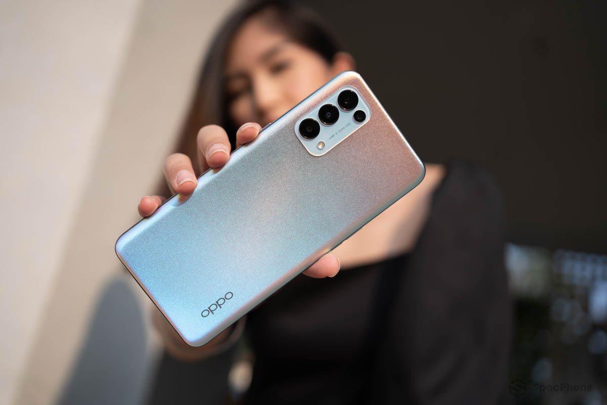 OPPO Reno5 Series 5G สมาร์ทโฟน 5G ถ่ายวิดีโอสวยชัดทั้งกลางวันและกลางคืน ที่สุดของวิดีโอ Portrait