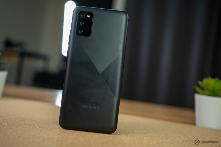 Review Samsung Galaxy A02s 43 1