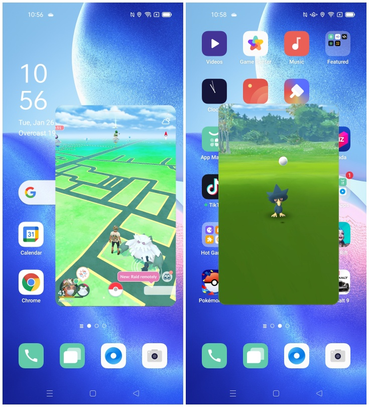 Screenshot FlexDrop Reno5 ColorOS 11